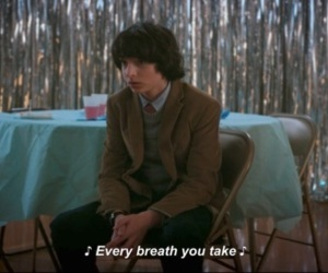 stranger things, music, and quotes image