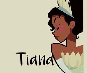 disney, tiana, and princess image
