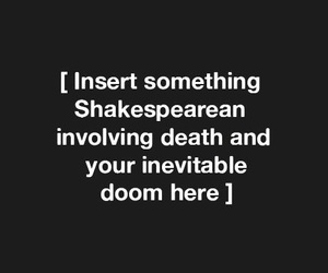 quotes, aesthetic, and shakespeare image