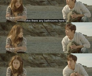 cute couple, tv series quotes, and KOREANS image