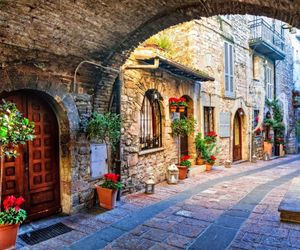 italy, travel, and village image