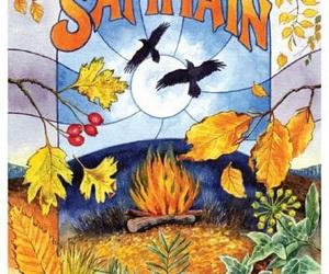 vk.com, autumn, and halloween samhain image