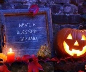 autumn, Halloween, and samhain image
