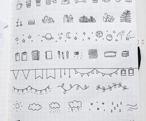 doodle, art, and ideas image