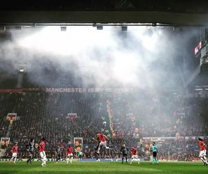 manchester united, champions league, and old trafford image