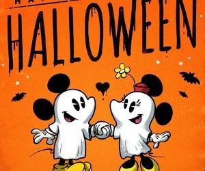 black, disney, and Halloween image