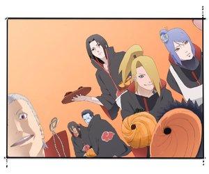 akatsuki, kisame, and itachi uchiha image