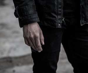 black, aesthetic, and cigarette image