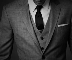 black&white, handsome, and men image