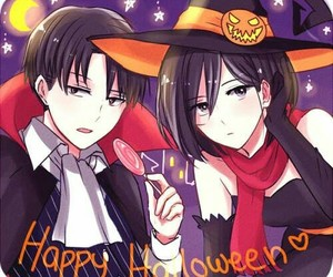 anime, Halloween, and snk image