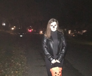 Halloween, trick or treat, and makeup image