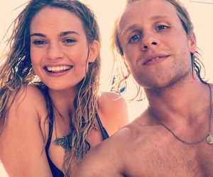 lily james, mamma mia, and josh dylan image