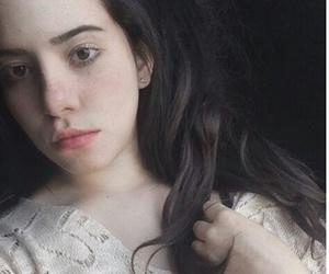 black hair, brunette, and no makeup image