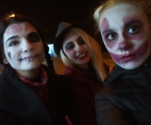 bff, halloween make up, and Halloween image
