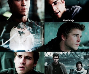 kale, the hunger games, and gale and katniss image