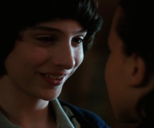 stranger things, finn wolfhard, and mileven image