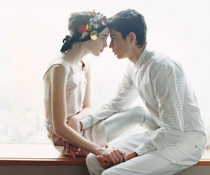 love, couple, and Teen Vogue image