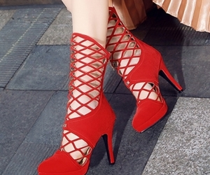high heels, woman, and tbdress reviews image