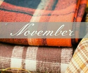 november, autumn, and blankets image