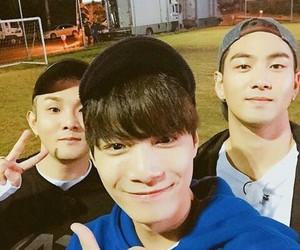 JR, baekho, and nu'est w image