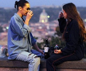 Beautiful Girls, drink, and model image