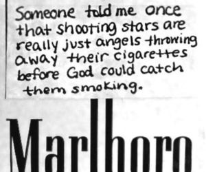 cigarette, angel, and marlboro image
