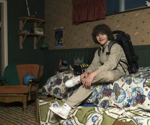 stranger things, gaten matarazzo, and dustin henderson image