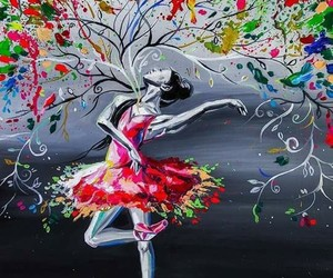 abstract, art, and ballet image