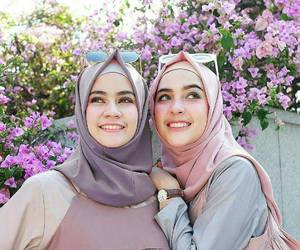 beauty, hijab, and cute image