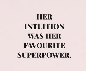 quotes, words, and intuition image