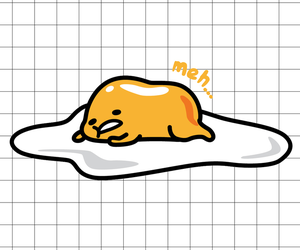 gudetama, wallpaper, and egg image