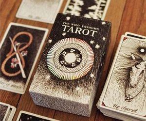 tarot, magic, and cards image