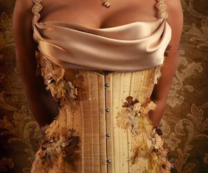 corset, lace, and hautecouture image