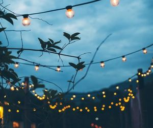 aesthetic, lights, and pretty image