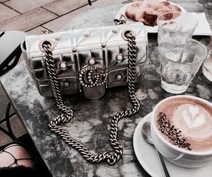 gucci, coffee, and bag image