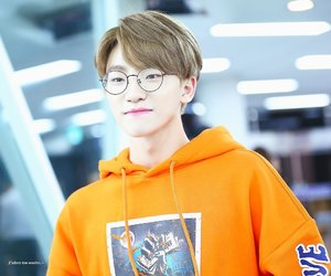 dino, glasses, and Seventeen image