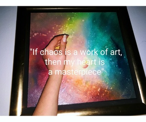 art, chaos, and masterpiece image