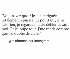 fatigue, french, and life image