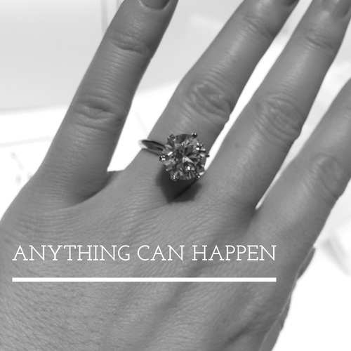 love, ring, and black and white image