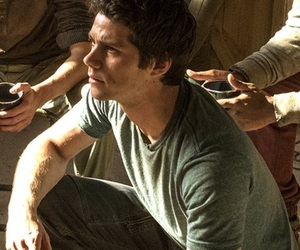 movie, the maze runner, and dylan o'brien image