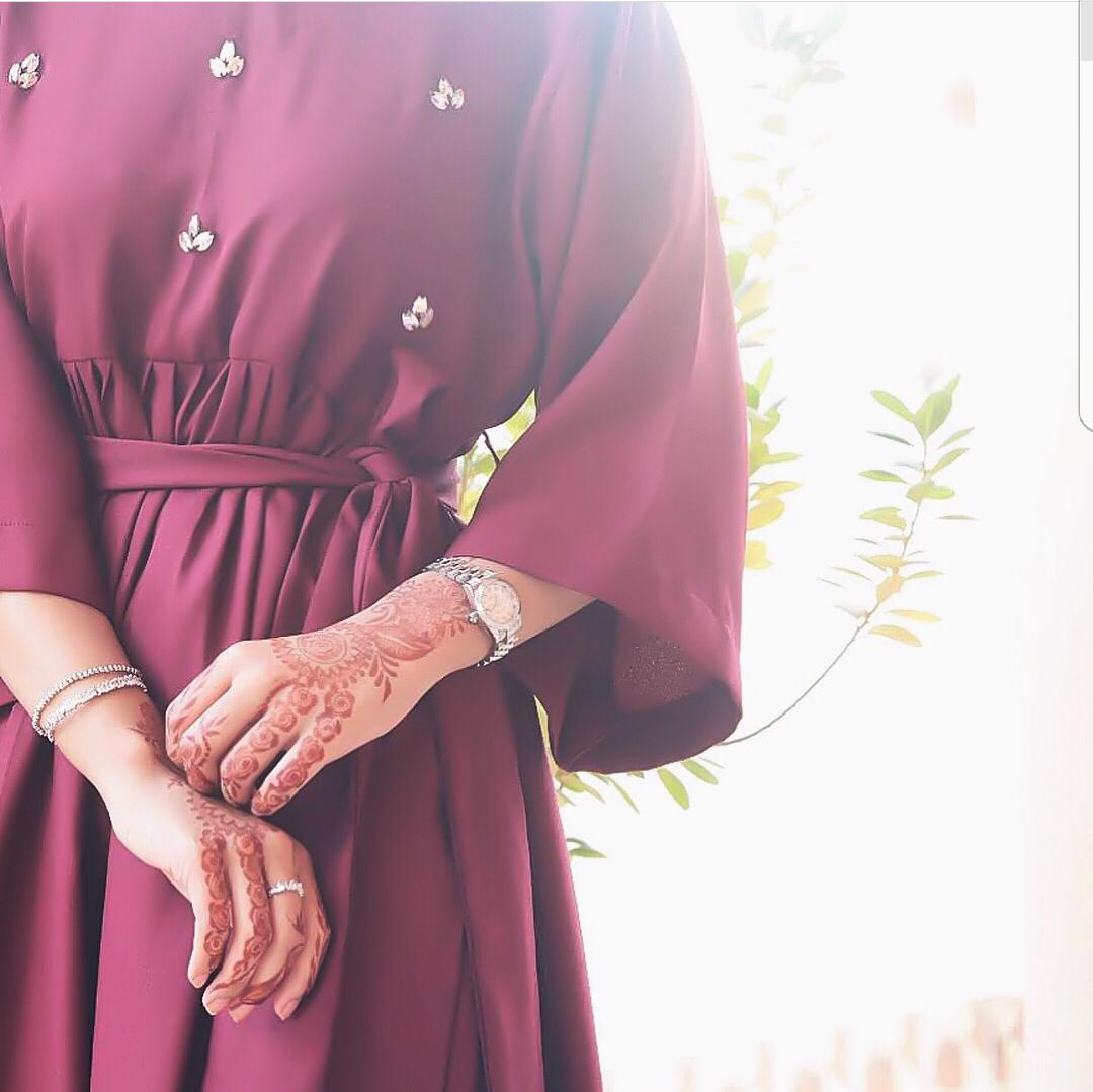 doha, dress, and henna image