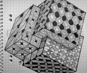 art, drawing, and geometry image