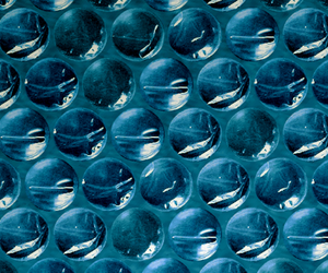 blue, bubblewrap, and teal image
