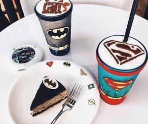 batman, food, and superman image