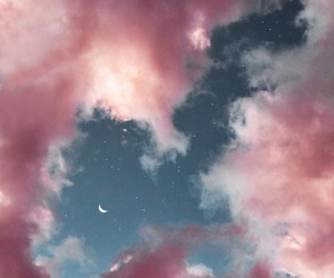 aesthetic, inspiration, and moon image