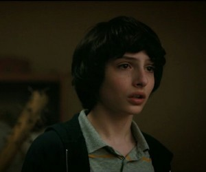 mike wheeler, stranger things, and finn wolfhard image