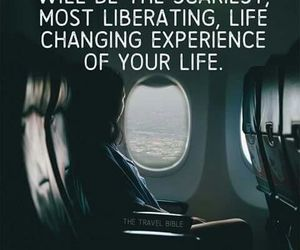quotes, travel, and alone image