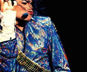 king of pop, michael jackson, and dangerous era image