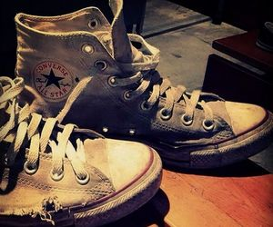 all star, old, and chuck taylor image