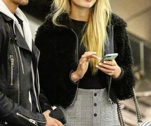 blonde, model, and off duty image